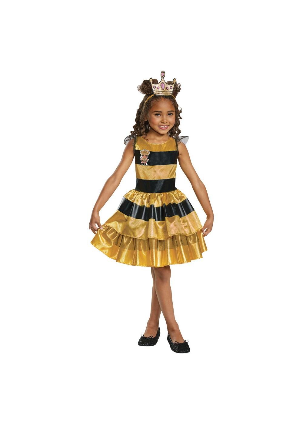 Kids L.o.l Dolls Queen Bee Girls Costume