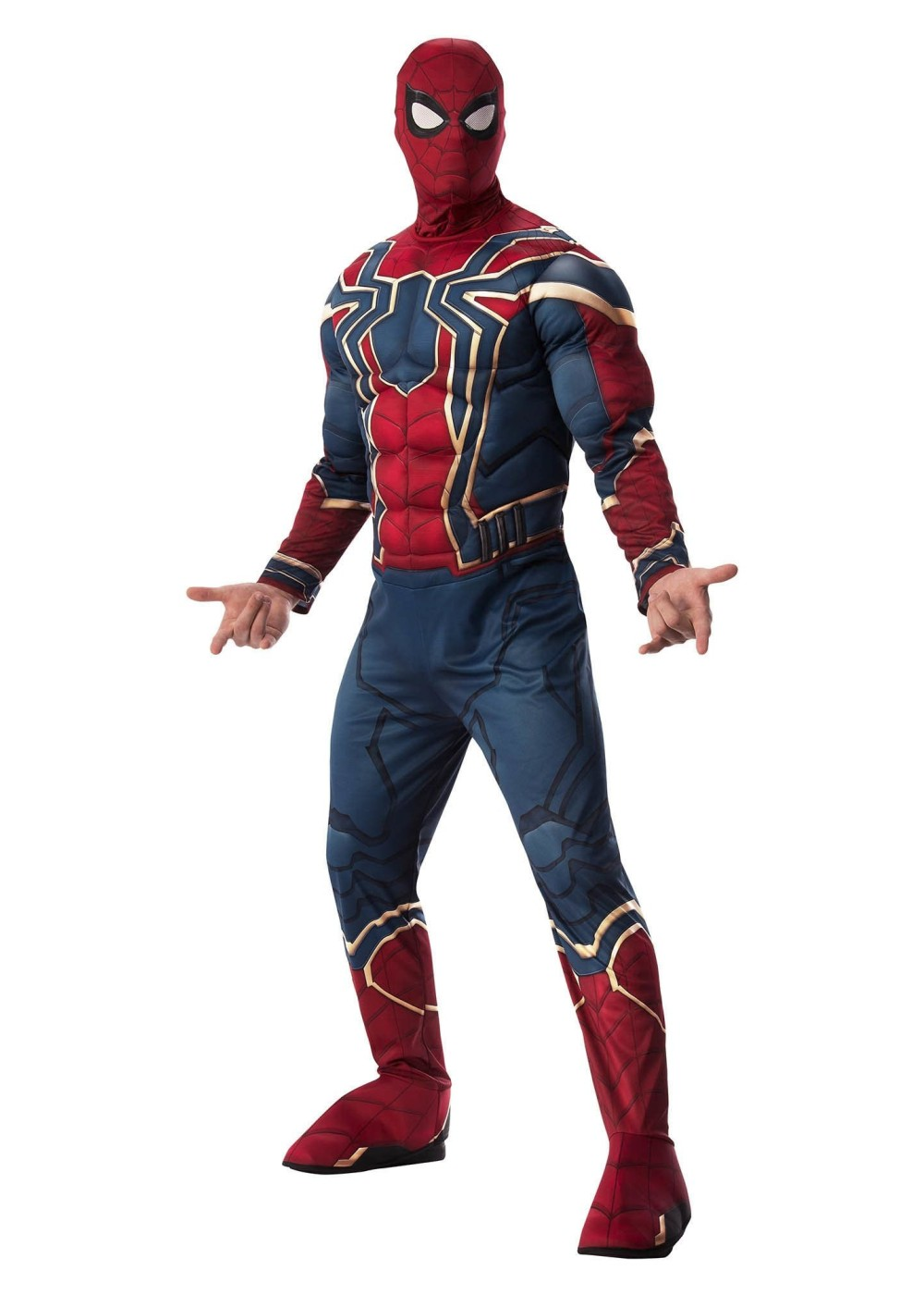 Mens Marvel Iron Spiderman Costume