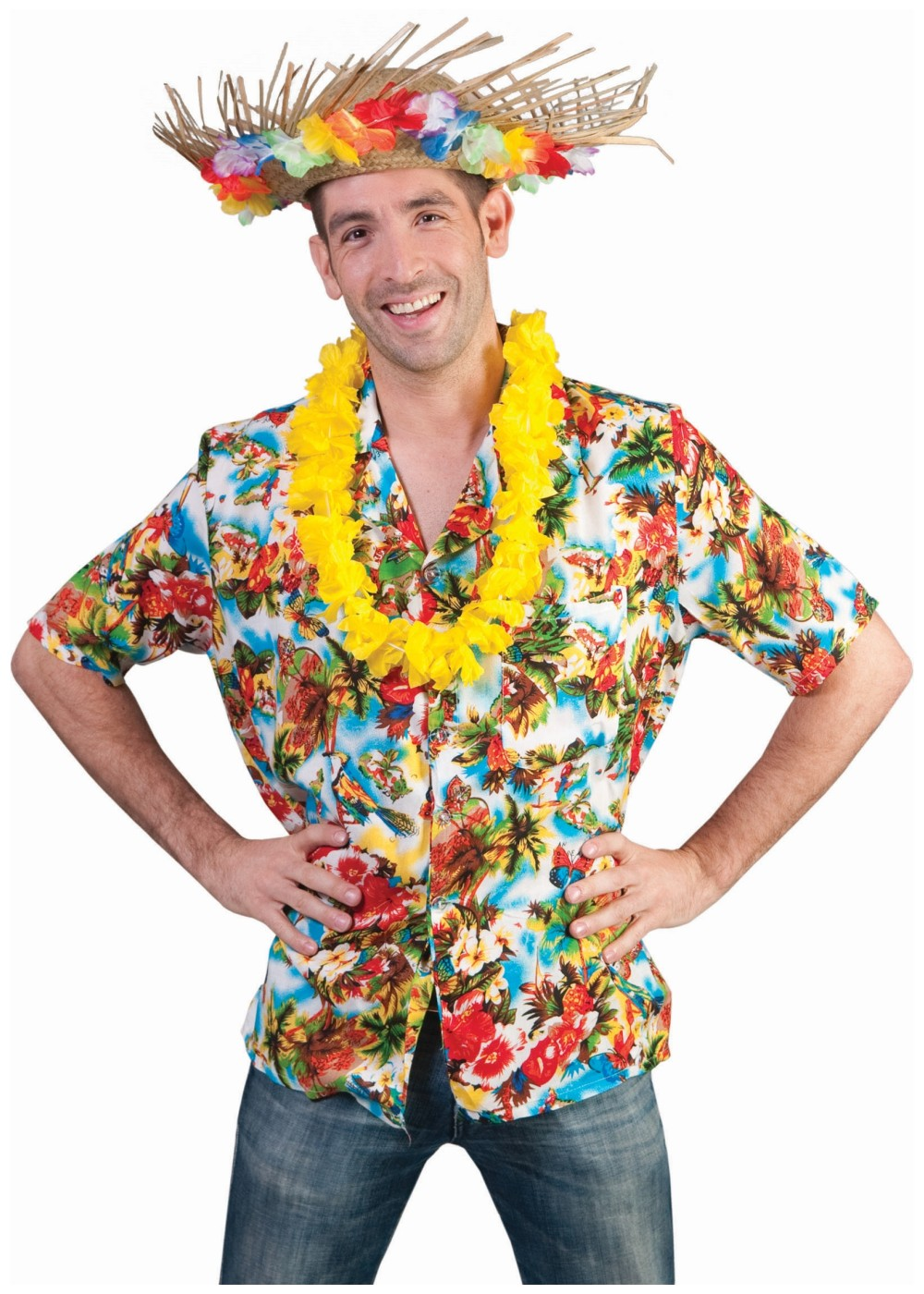 Hawaiian Tropical Paradise Men Shirt