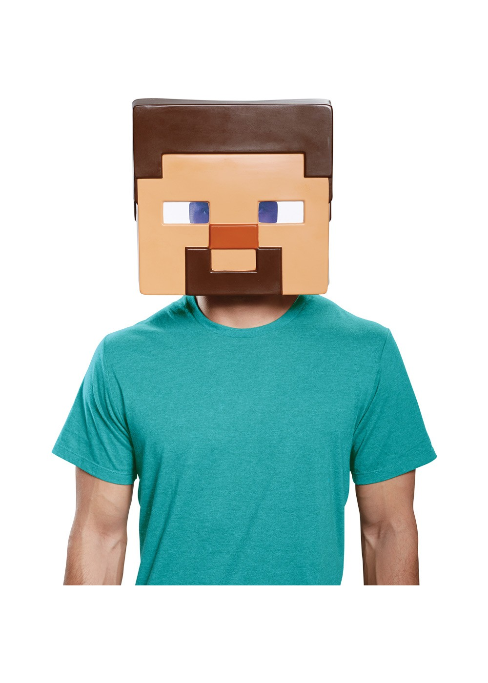 Minecraft Steve Mens Mask Video Game Costumes