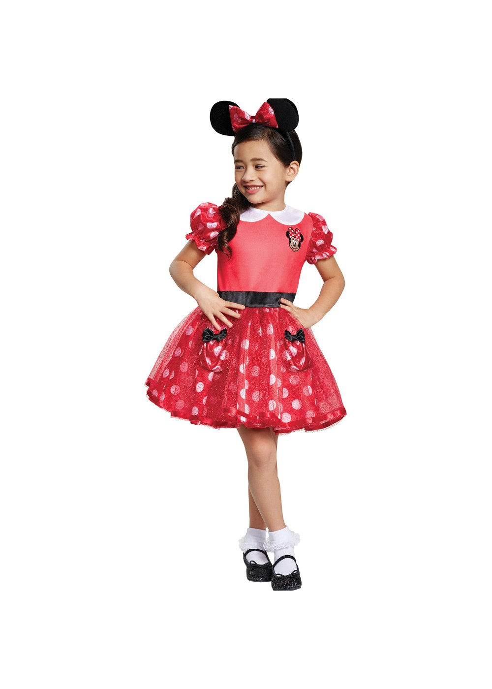 Kids Girls Minnie Mouse Toddler Costume