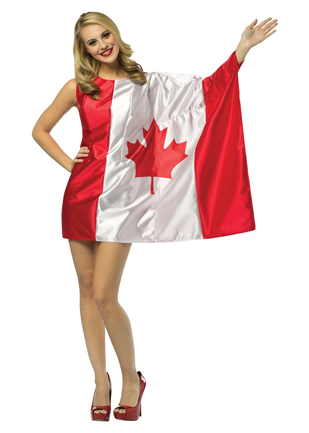 Miss Canada Flag Costume
