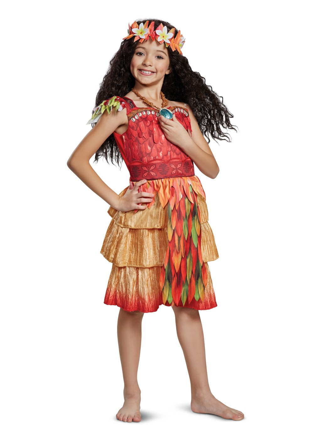 Kids Moana Epilogue Girl Costume Deluxe