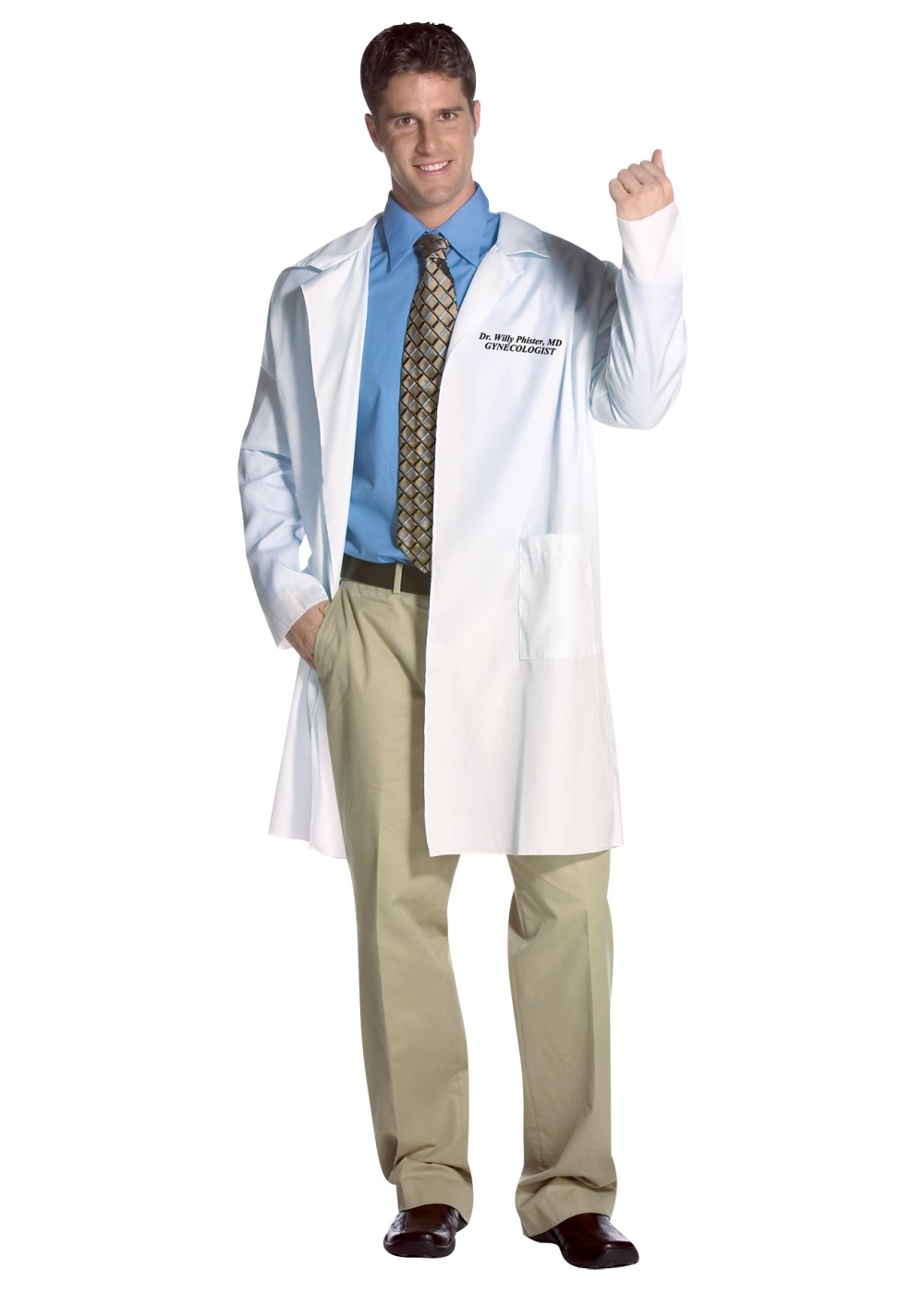 Plus Size Doctor Scrubs Costume