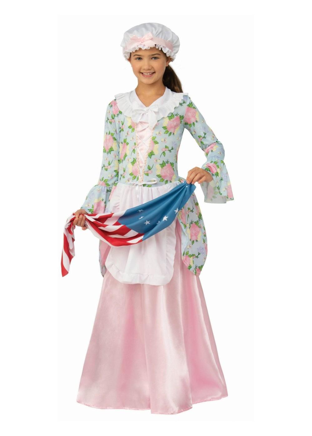 Patriotic Betsy Ross Girls Costume