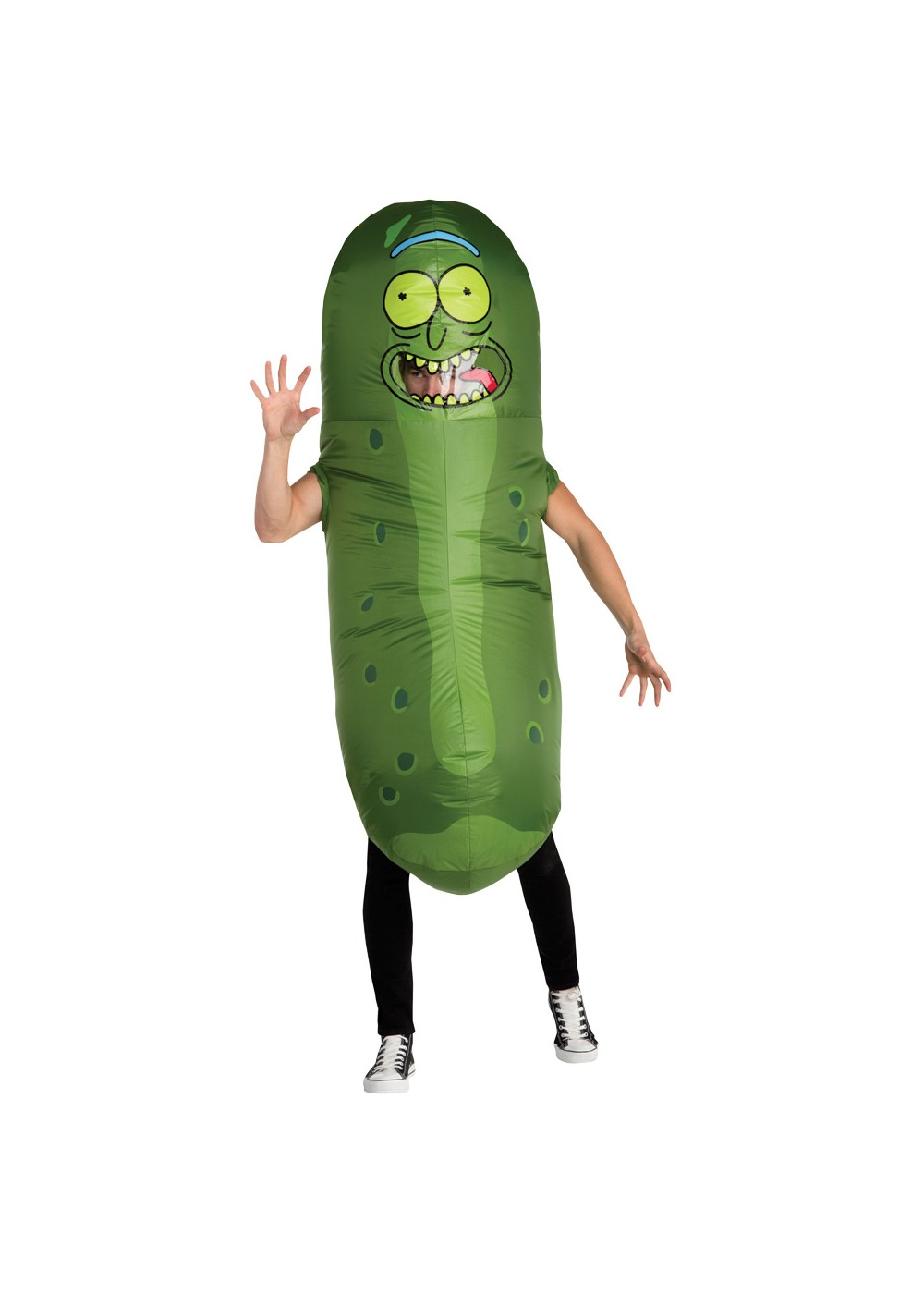 Pickle Rick Foam Costume