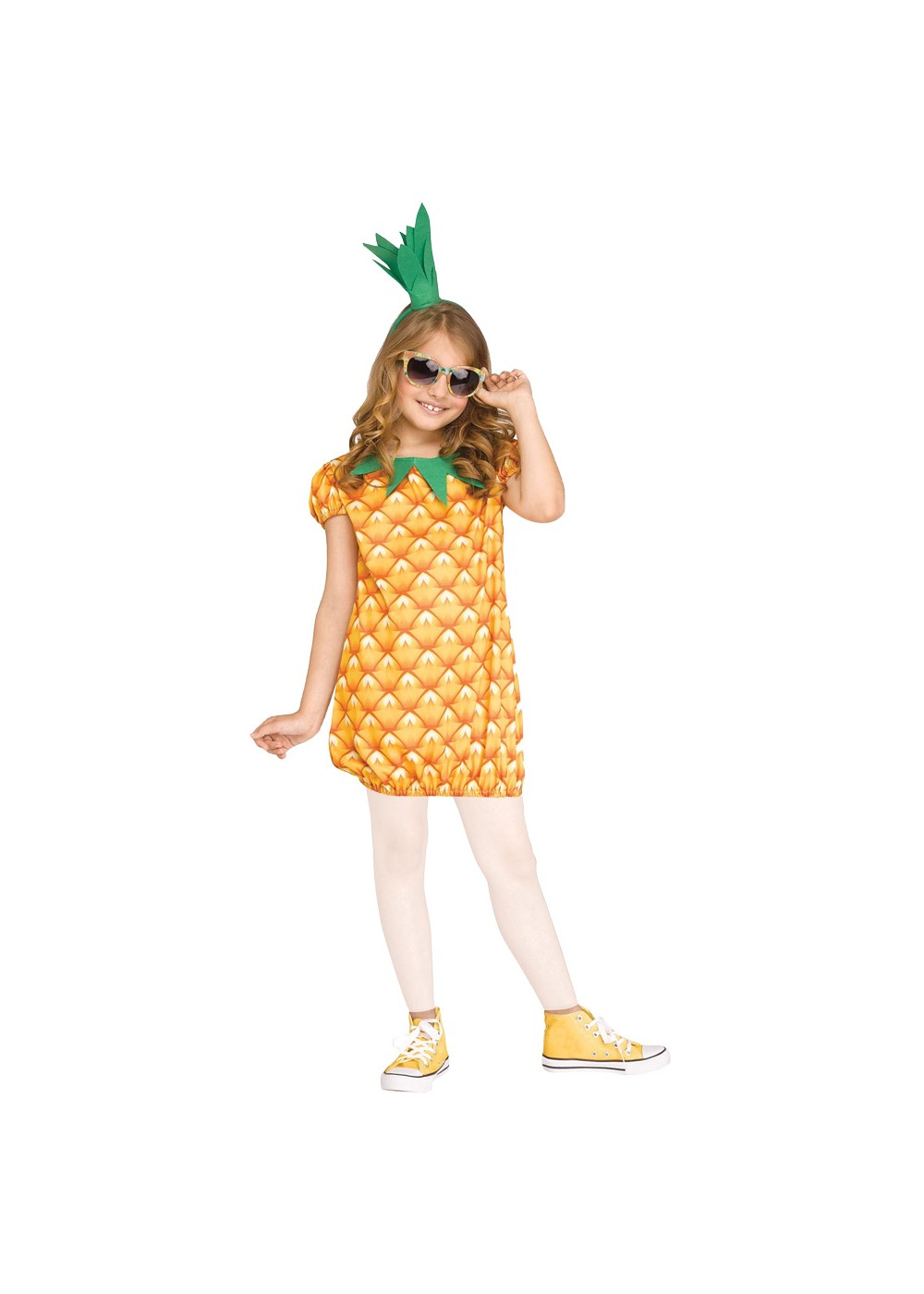 Kids Pineapple Cutie Girls Costume