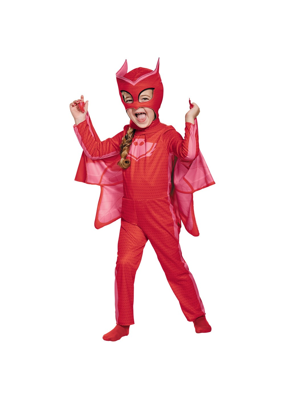 Kids Pj Masks Owlette Girls Costume