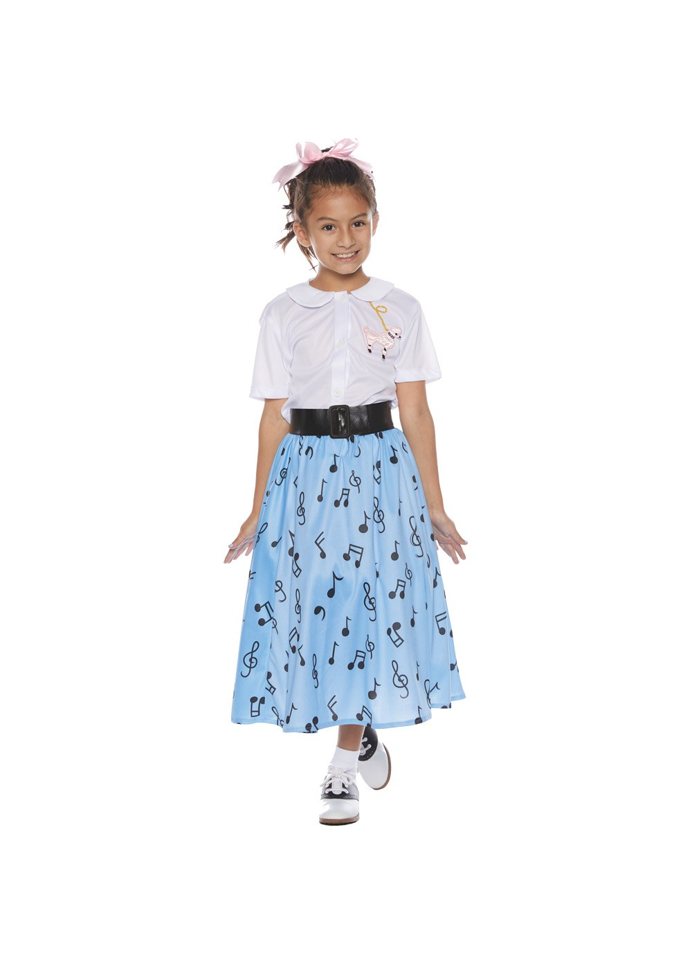 fb3af36f1546 50's Poodle Skirt Girl Costume - 1950s Costumes