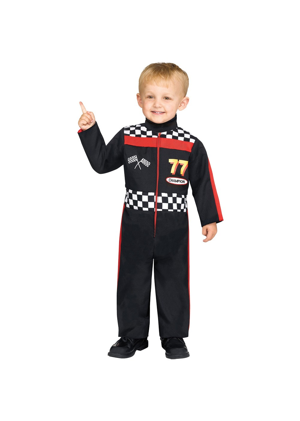 Toddlers Race Car Driver Costume