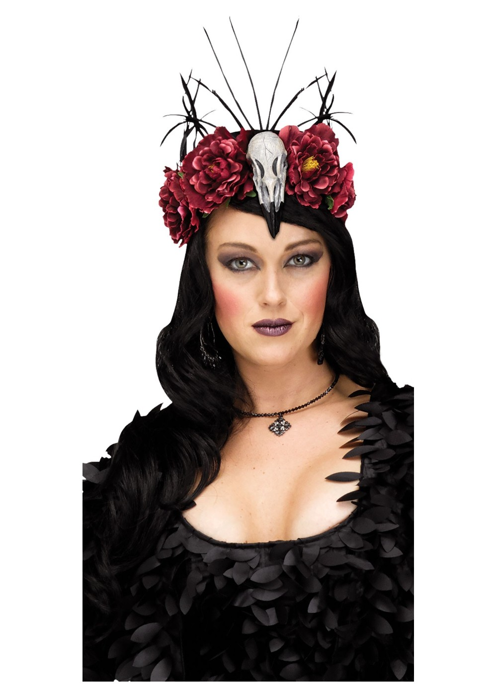 Raven flower crown accessories new for 2018 raven flower crown izmirmasajfo