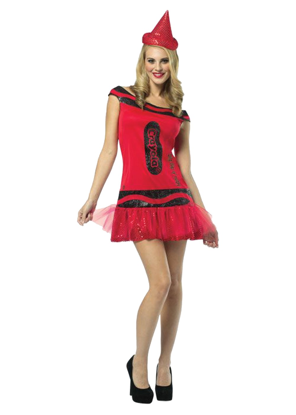 Red Crayola Crayon Costume - Cosplay Costumes - New for 2018