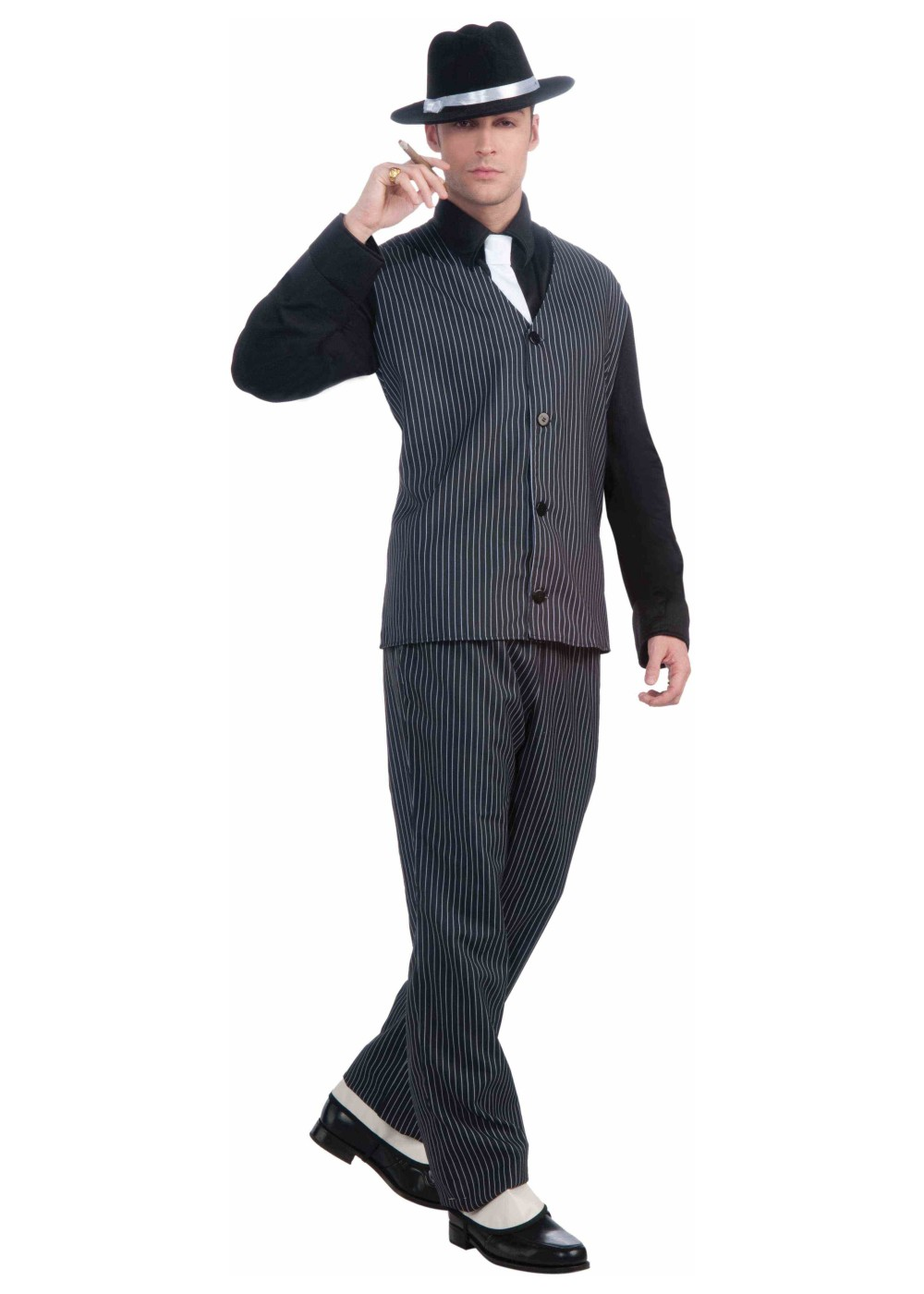 Mens Roaring 20s Gangster Costume - 1920s Costumes