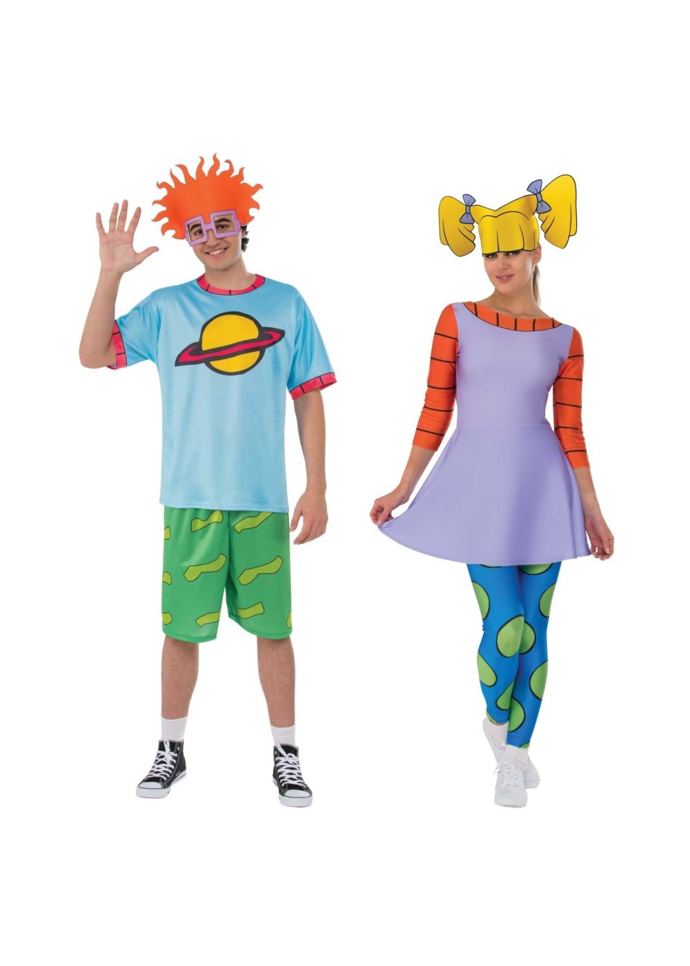 rugrats chuckie and angelica couple costume