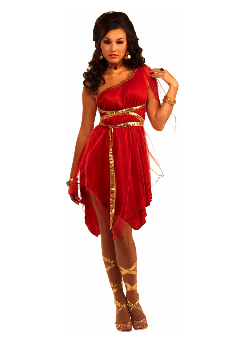Womens Scarlet Goddess Costume
