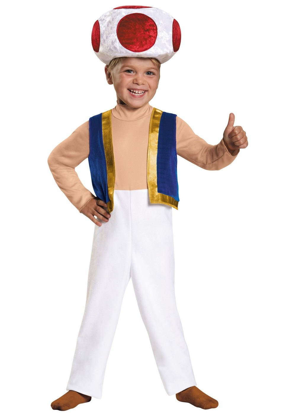 Super Mario Brothers Toad Toddler Boys Costume
