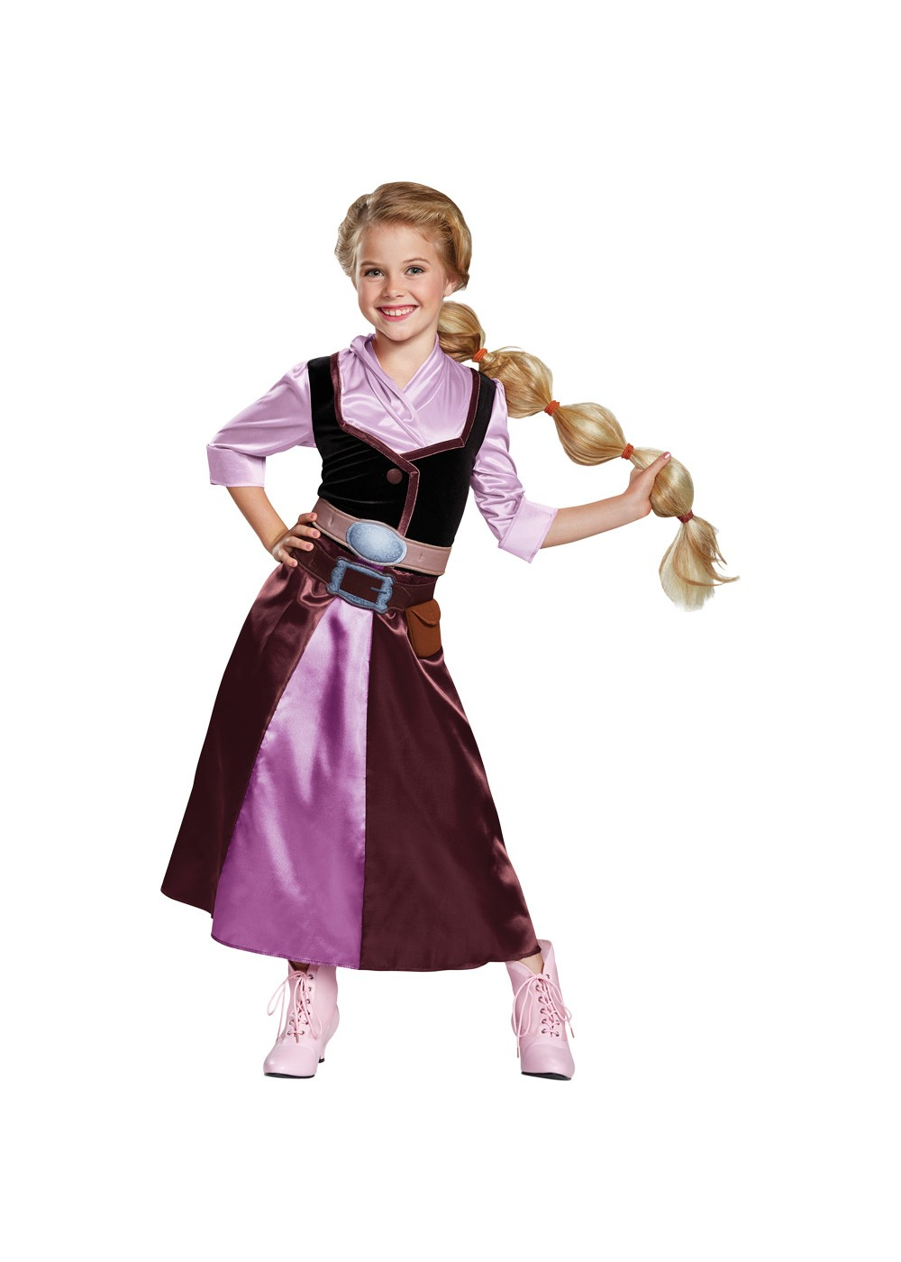 Kids Princess Rapunzel Girls Costume
