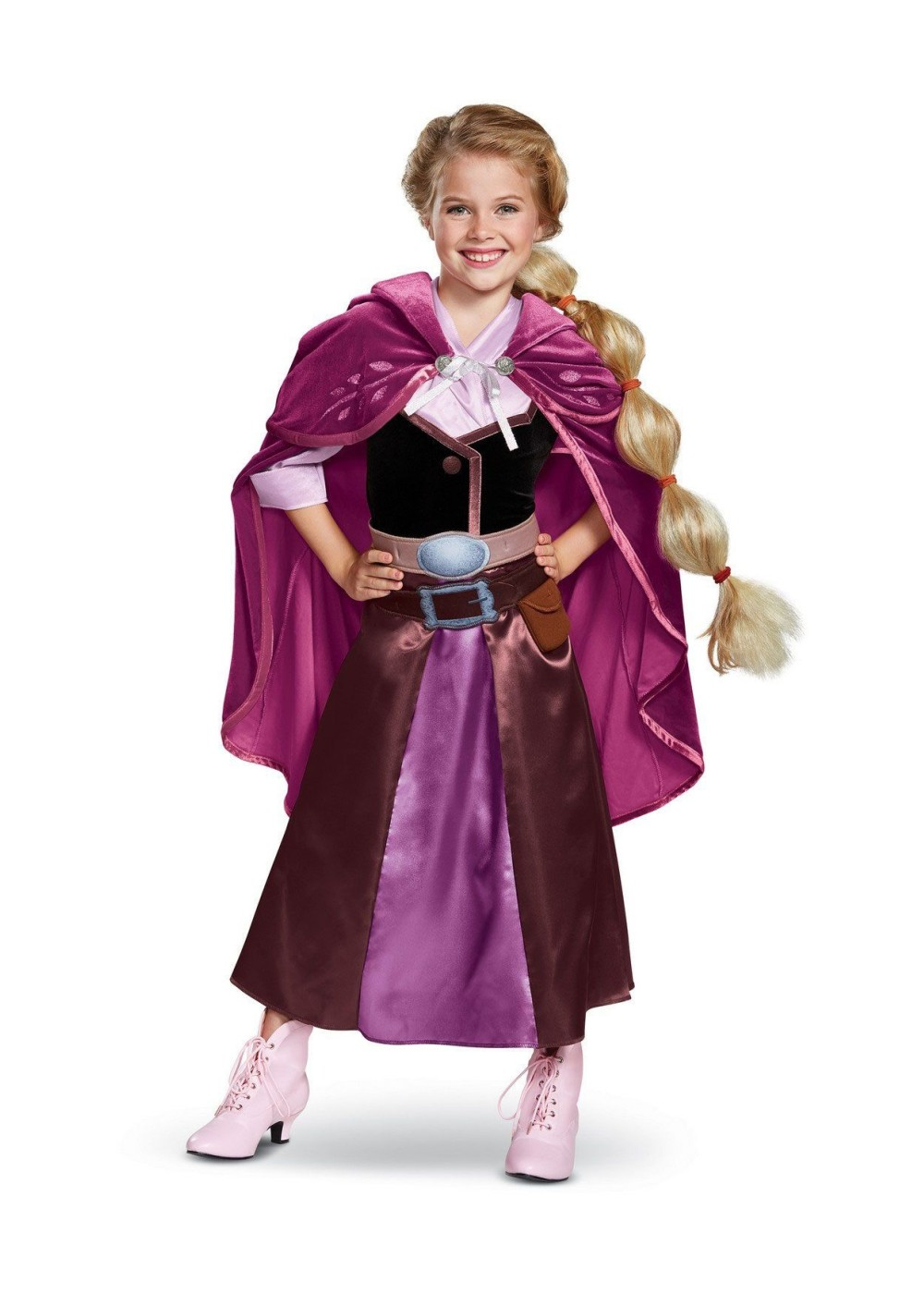 Kids Tangled The Series Rapunzel Girls Costume