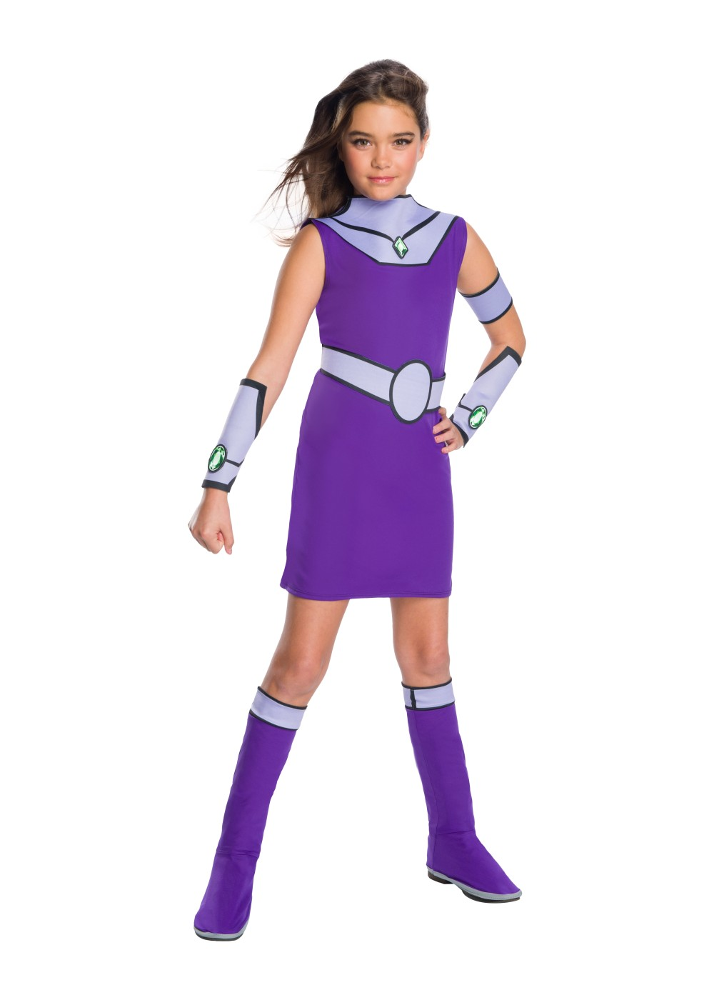 Kids Teen Titan Girls Starfire Costume