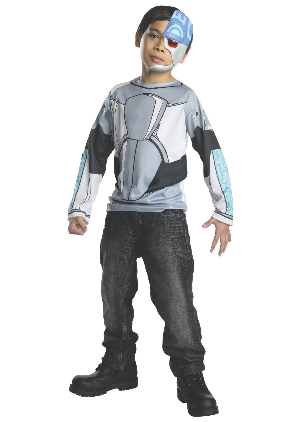 Teen Titans Boys Cyborg Costume