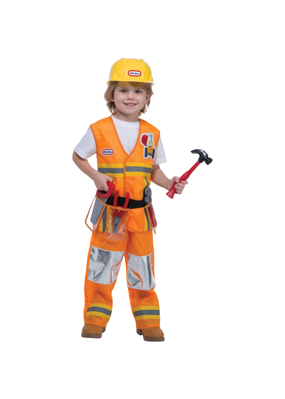 Kids Toddler Construction Worker Costume