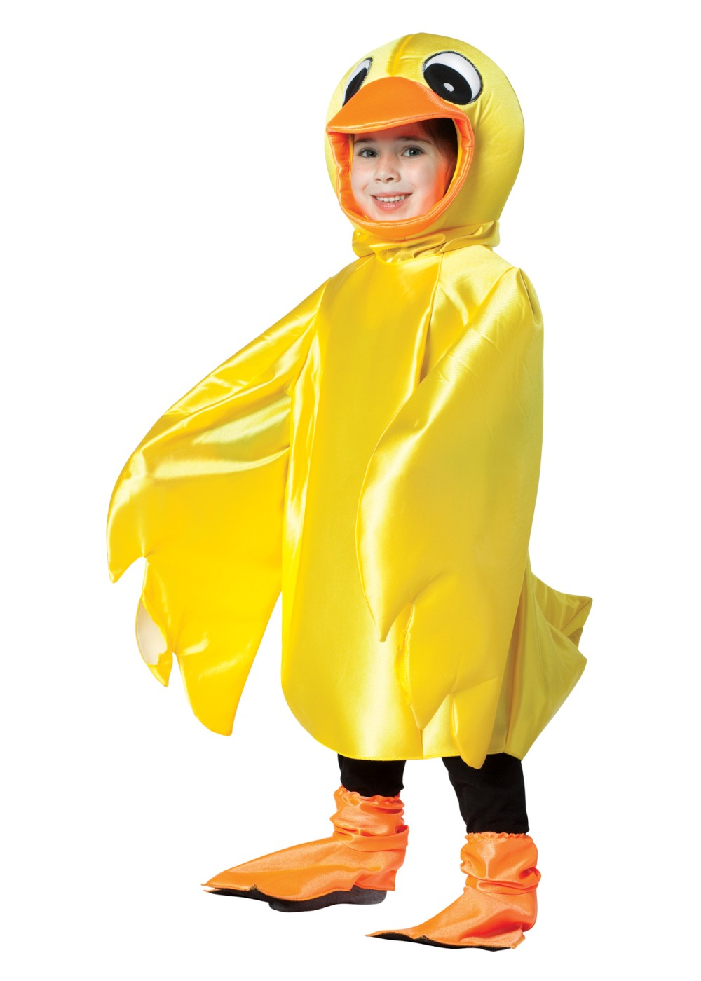TODDLER YELLOW DUCK DUCKY COSTUME SIZE 2T-4T /& 4-6 missing hood /& shoe covers