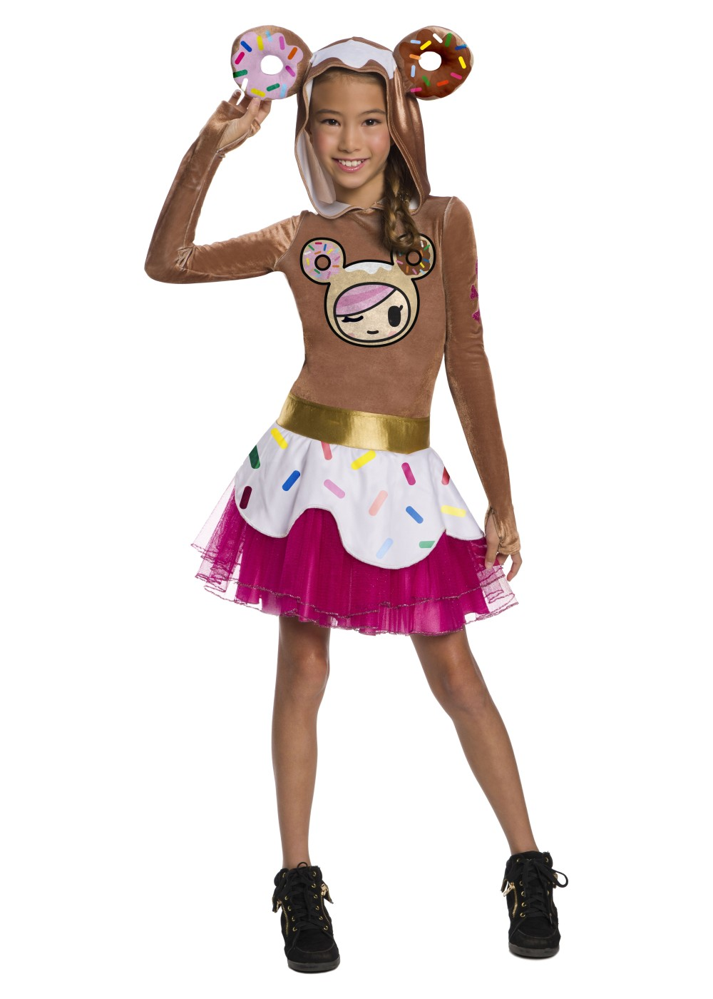 Kids Tokidoki Girls Donutella Costume