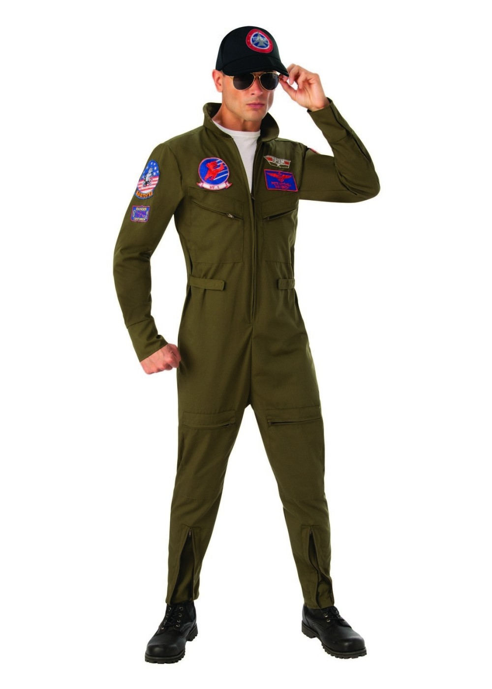 29454a28a70c Top Gun Mens Fighter Pilot Costume - Cosplay Costumes
