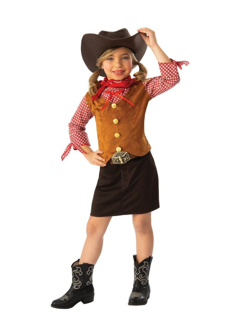 Wild Western Girl Costume - Cowgirl Costumes - New for 2018