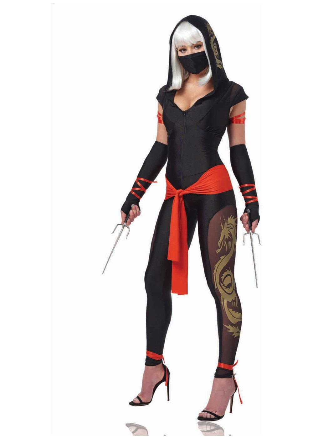 Womens Dragon Warrior Costume