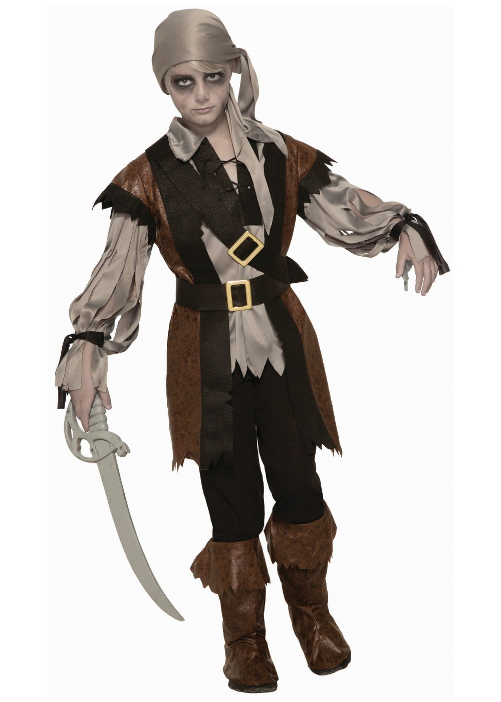 Zombie Pirate Boy Costume