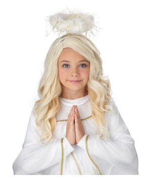 Golden Angel Kids Wig
