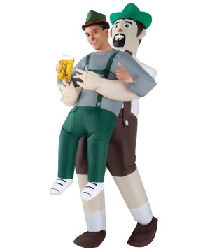 Bavarian Inflatable Pick Costume