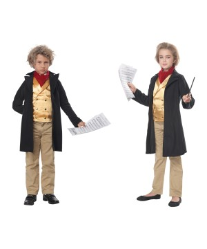 Famous Composer /beethoven Kid Costume