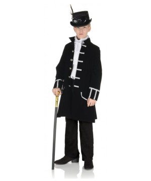 Kidss Black Frock Coat
