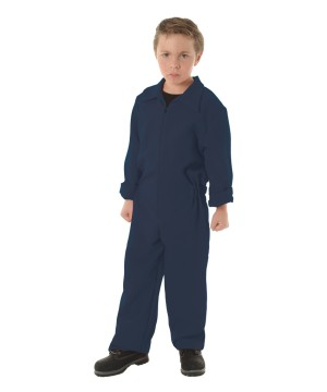 Boys Boiler Suit Costume