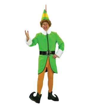 Mens Buddy Elf Costume