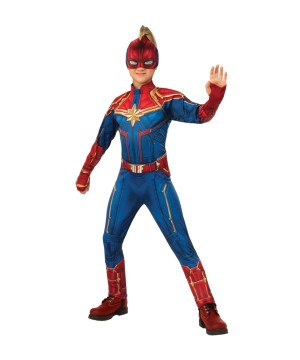 Boys Captain Marvel Costume