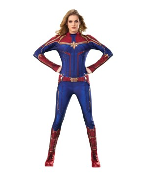 Womens Captain Marvel Costume