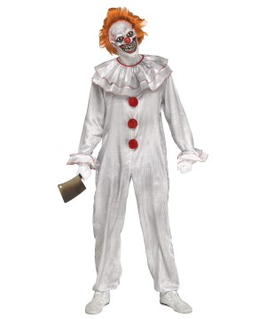 Carnevil Clown Men Costume