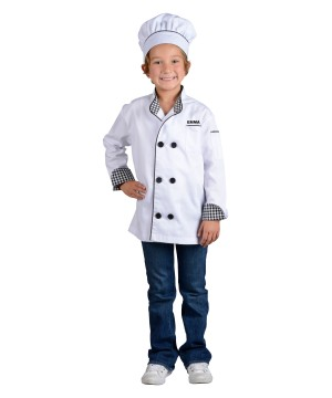 Chef Jacket Kids Costume