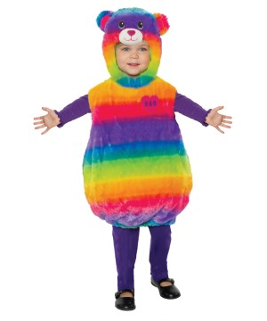 Childrens Build-a-bear Rainbow Costume