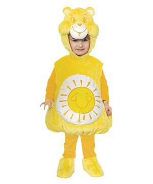 Kidsrens Care Bears Funshine Costumes
