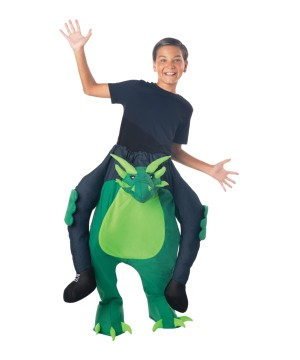Kidsrens Carry Me Dragon Costume
