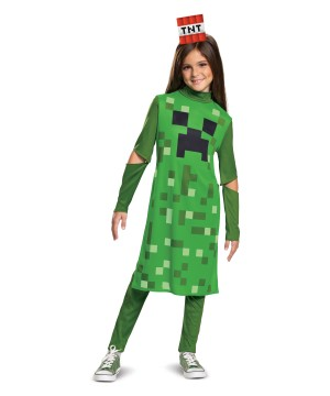 Minecraft Creeper Girl Costume