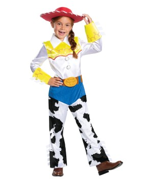 Girls Disney Jessie Costume deluxe