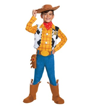 Boys Disney Woody Costume deluxe