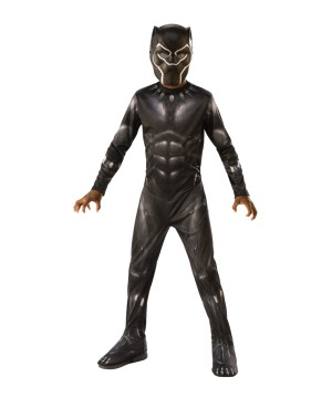 Boys Endgame Black Panther Costume Economy