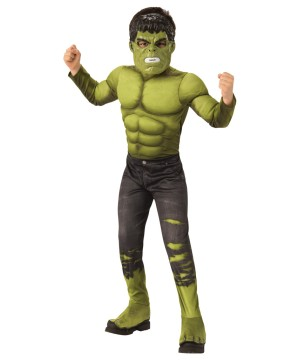 Boys Endgame Hulk Costume