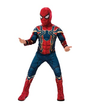 Boys Endgame Iron Spider Costume deluxe
